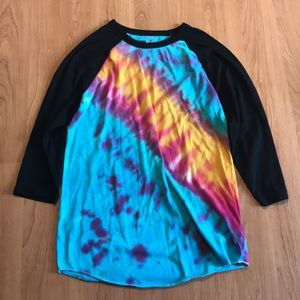 Urban Outfitters Tie-Dye Baseball Tee